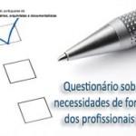 Resultados da auscultação das necessidades formativas para 2012
