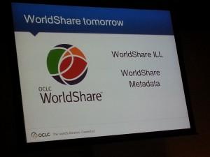 Apresentação do OCLC Worldshare