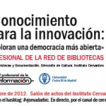 Actas das V Jornadas Profissionais da Rede de Bibliotecas do Instituto Cervantes