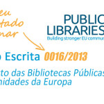 Declaração do Parlamento Europeu sobre Bibliotecas Públicas