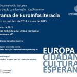 5.ª Palestra do Programa de EuroInfoLiteracia dedicada ao papel das religiões na União Europeia