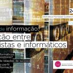 """Jornada """"Gestão de Informação: interação entre arquivistas e informáticos"""", em Torres Novas"""