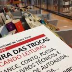 Dia Mundial do Livro. Feira de trocas e livros em miniatura na Biblioteca de Santo Tirso
