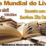 Dia Mundial do Livro. Na Madeira com a escritora Zita Cardoso
