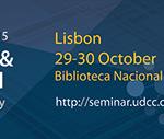 """Seminário International """"Classification & Authority Control: Expanding Resource Discovery"""" na Biblioteca Nacional de Portugal"""
