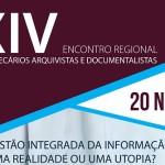 XIV Encontro Regional de Bibliotecários, Arquivistas e Documentalistas | AÇORES