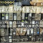 Região Centro acolhe 3 oficinas sobre avaliação, seleção e eliminação de documentos acumulados