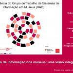 Évora recebe a II Conferência do Grupo de Trabalho de Sistemas de Informação em Museus