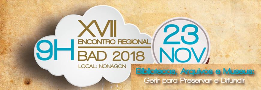 XVII Encontro Regional da BAD Açores