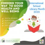 outubro - Mês Internacional da Biblioteca Escolar: Descobrir caminhos para a saúde e o bem-estar