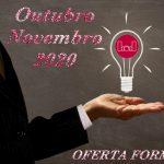 Descubra a nossa oferta formativa para outubro e novembro de 2020!