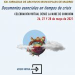 O GT-AM nas XXI Jornadas de Archivos Municipales de Madrid
